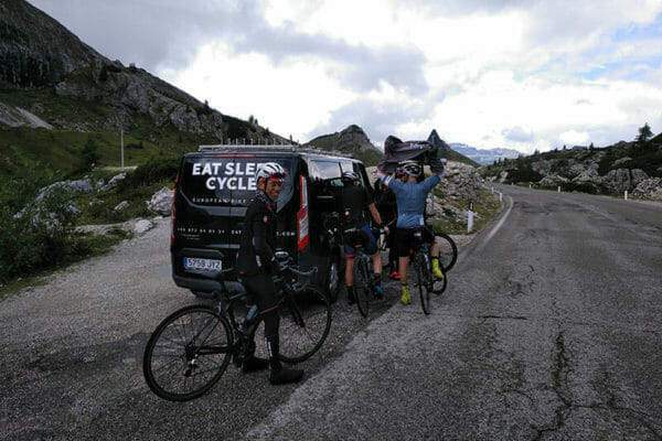 Ride Support- Trans Dolomites challenge- Cycle tour