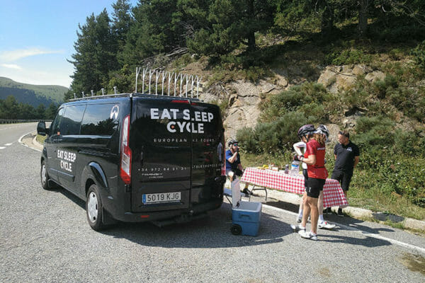 Ride support- Trans Pyrenees Challenge- Cycle tours