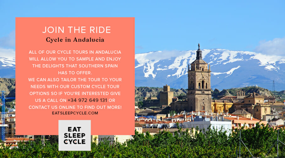 Cycle in Andalucia - Cycling Tours of Spain - Eat Sleep Cycle