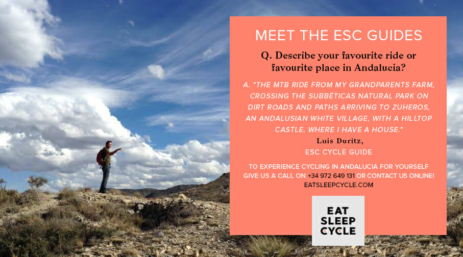 Meet The Eat Sleep Cycle Guide in Andalucia - Luis Duritz
