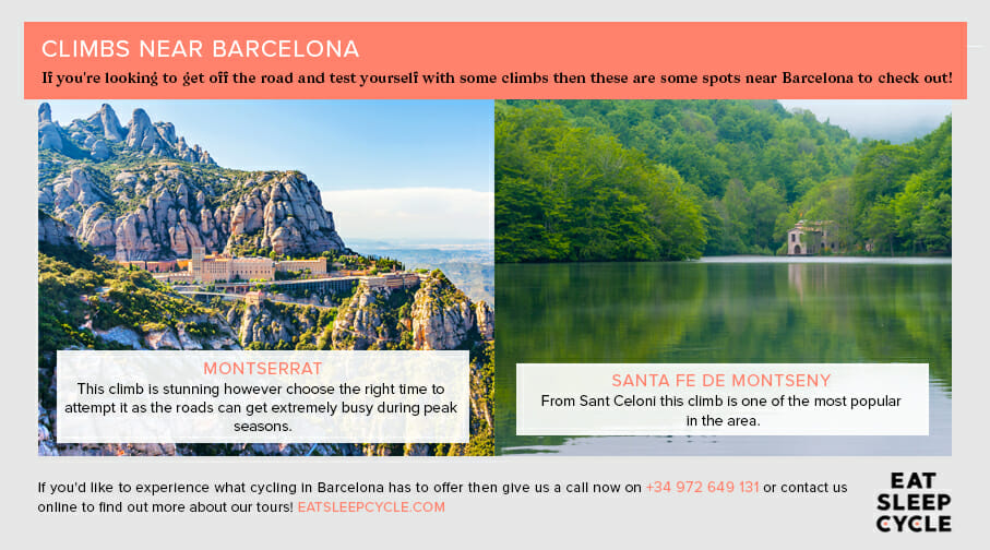 Cycling Climbs Near Barcelona - Eat Sleep Cycle