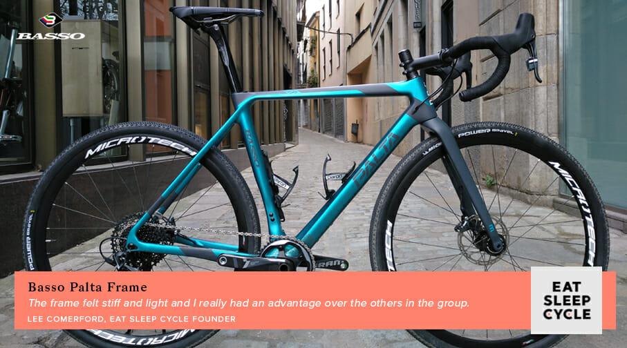 Basso Palta Bike Review - Frame - Eat Sleep Cycle Girona