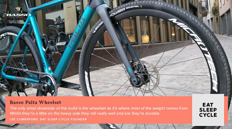 Basso Palta Bike Review - Wheelset - Eat Sleep Cycle Girona