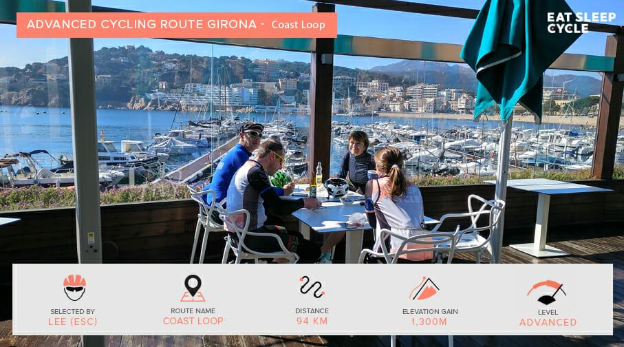 Advanced Cycling Routes Girona - Coast Loop - Eat Sleep Cycle