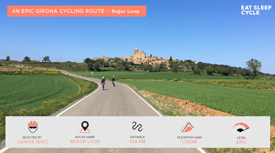 Epic Girona Cycling Routes - Begur Loop - Eat Sleep Cycle Girona
