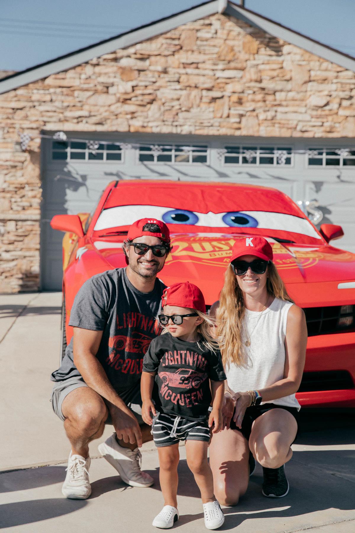 Diy Disney Pixar Cars Theme 2nd Birthday Party Eat Sleep Wear
