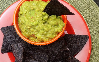 Chop, Mash, In-A-Flash Guacamole