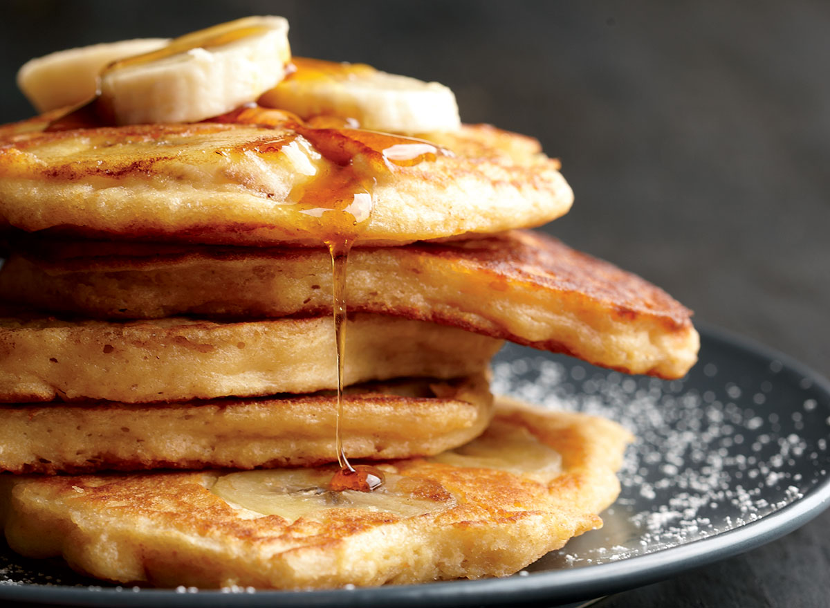 Light And Fluffy Banana Pancakes Recipe Eat This Not That