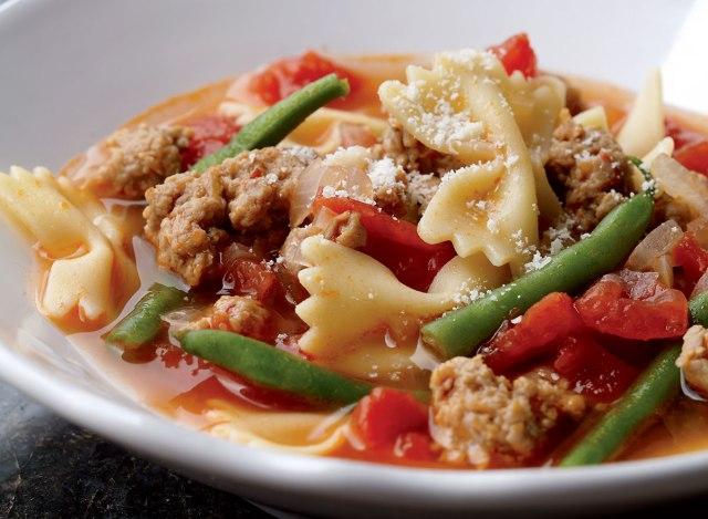 Paleo italian sausage soup