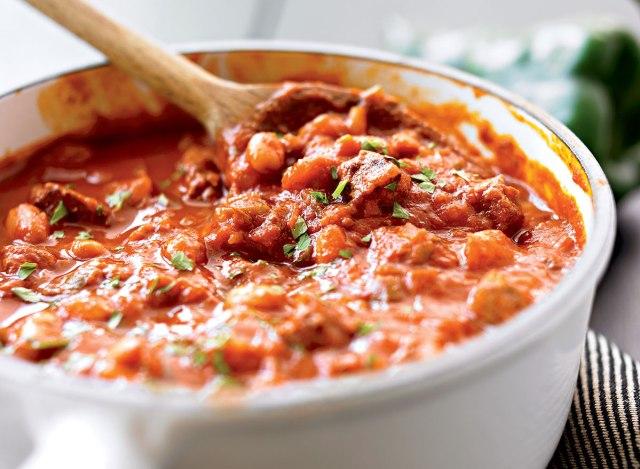Serious gluten-free chili
