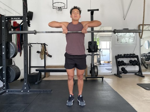 1 barbell upright row 1200
