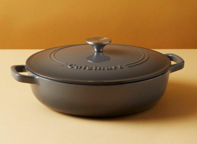 cuisinart cast iron braiser