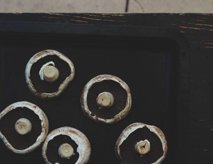 mushrooms tray