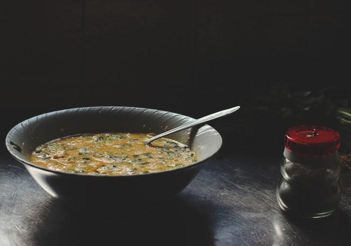 ricotta omlette mixture