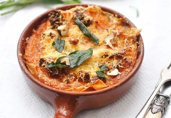 Image result for Vegetarian Pumpkin Lasagna Recipe