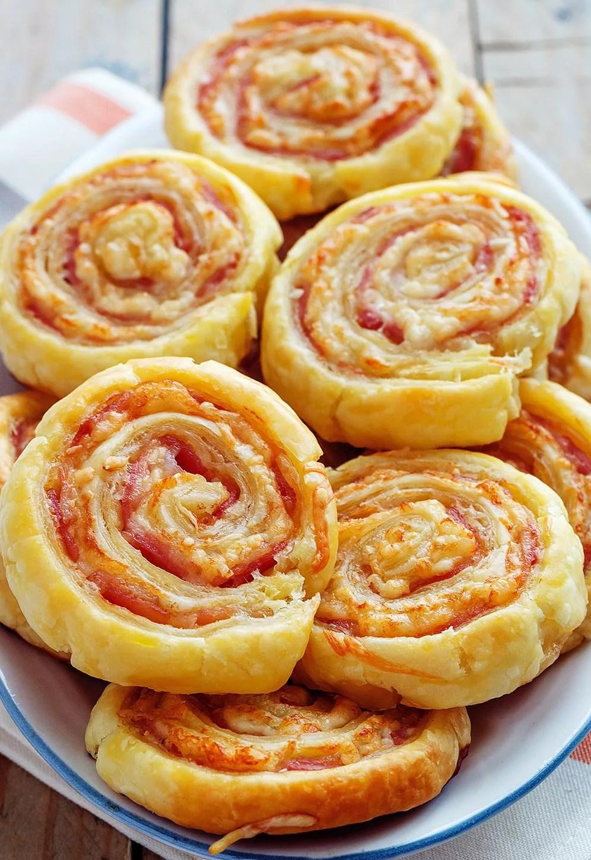 Bacon Cheese Crescent Pinwheels