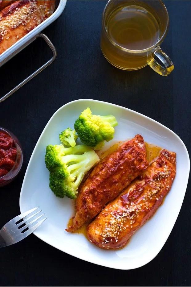 Roasted Harissa Chicken Breasts Recipe — Eatwell101