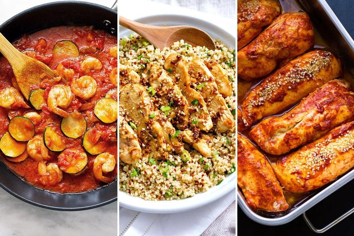 Healthy Fast Food Dinner