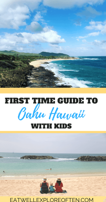 First Time Guide to Oahu Hawaii with Kids