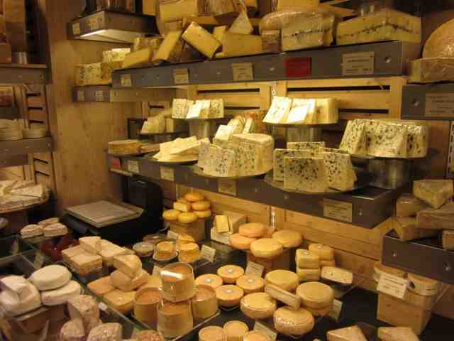 A French cheese shop