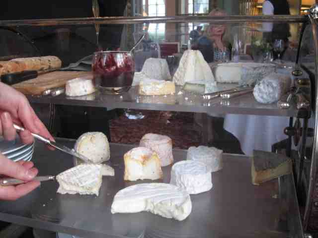 A 'chariot de fromage' in the Loire Valley