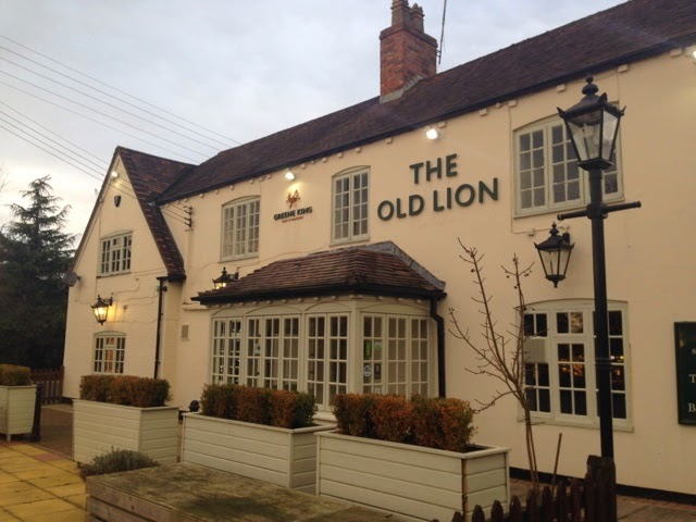 The Old Lion, Harborough Magna