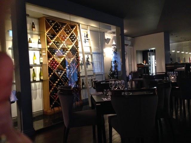 Interior of the Wine House, Lichfield
