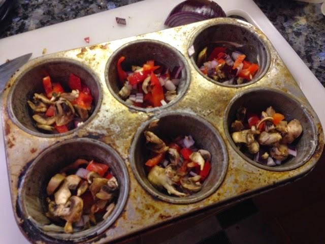 Making egg muffins