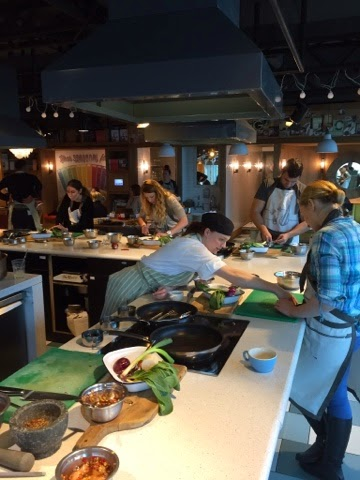 Slicing and dicing lesson at Jamie Oliver's Recipease