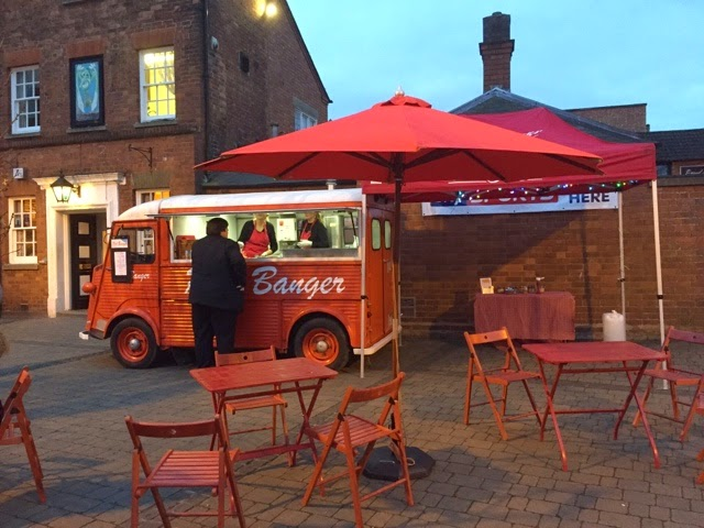 Red Banger at Rugby's First Thursdays