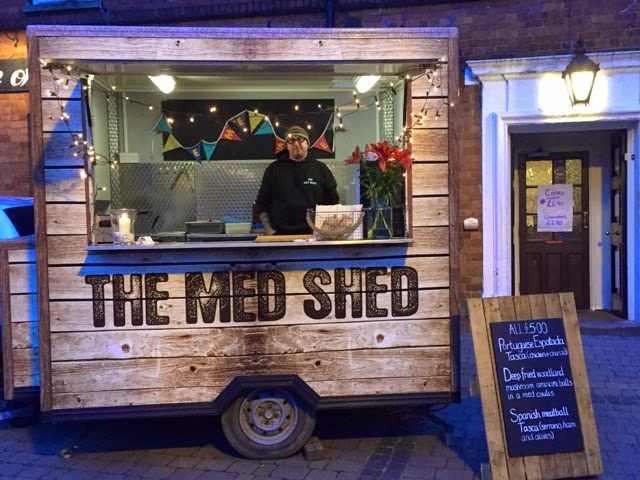 The Med Shed at Rugby's First Thursday's
