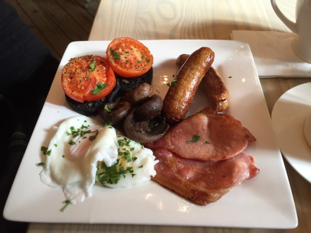 The 'Bigger' Breakfast at Nook on the Square, Dunchurch, Rugby