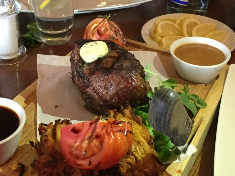 Chateaubriand at Miller & Carter, Birmingham