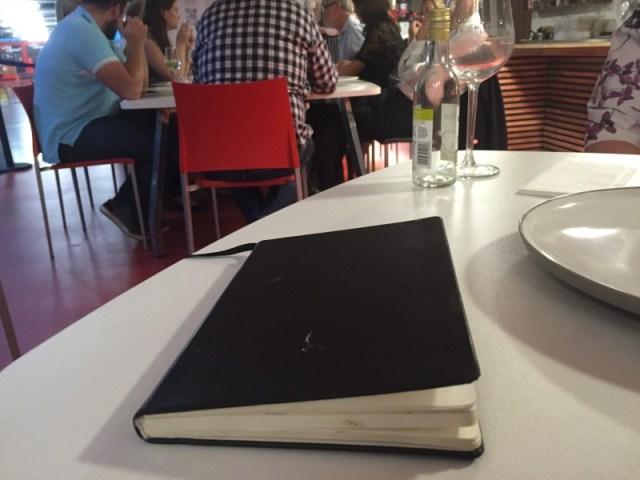 The En Place chefs' black book