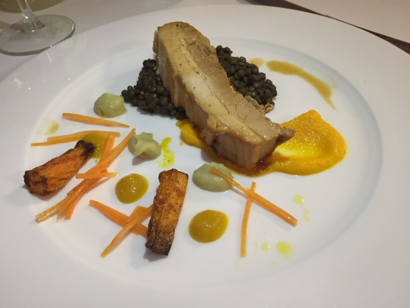 Slow-roasted belly pork at En Place pop-up