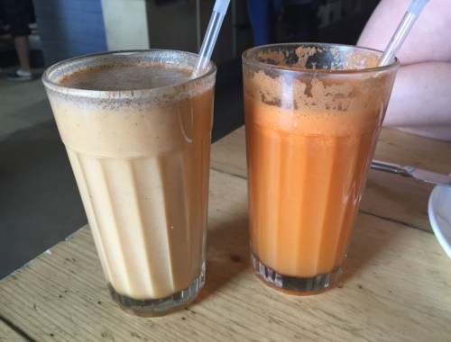 Drinks at Caravan, Kings Cross, London