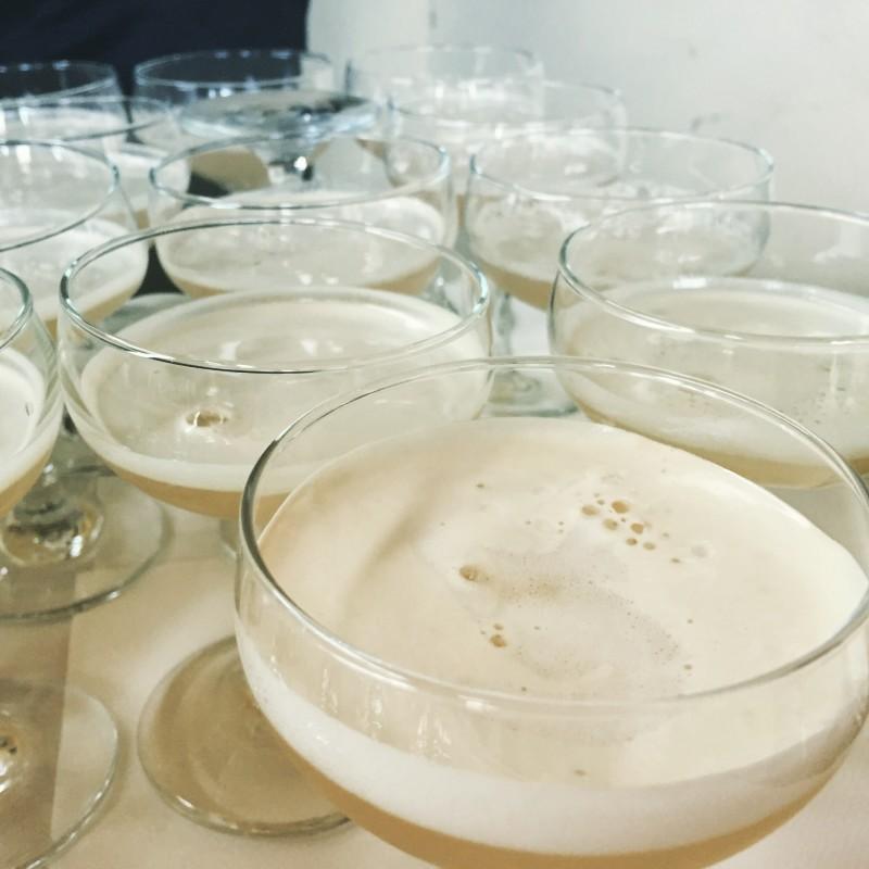 Cocktails at Bureau Bar, Colmore Row