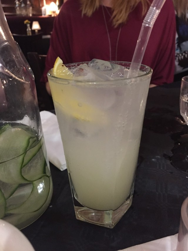 Tom Collins at the Jekyll and Hyde