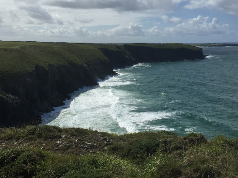 The Cornish Coastline