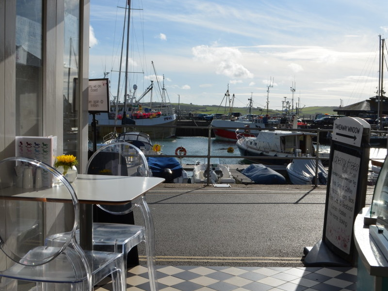 View from Cherry Trees, Padstow