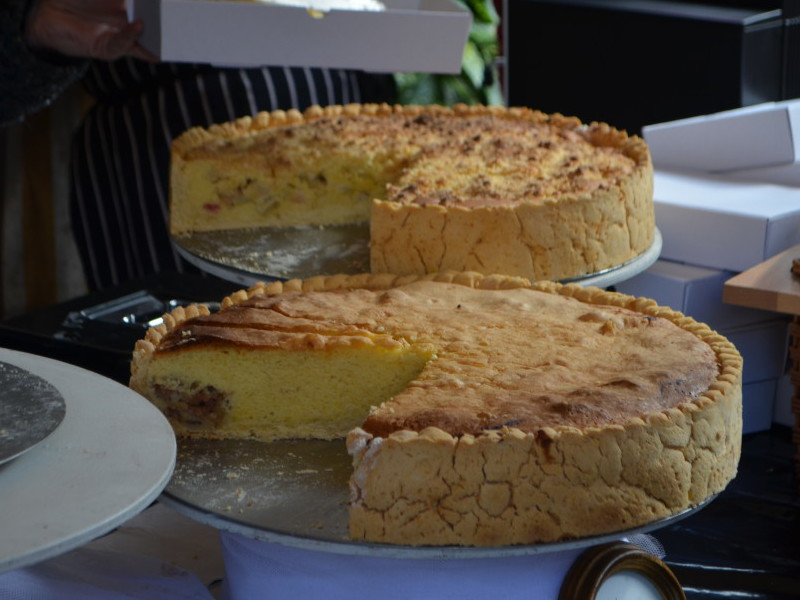 Cakes at Rugby Food and Drink Festival