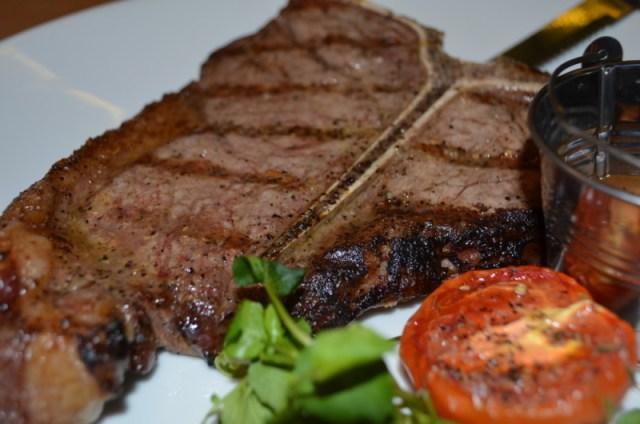 T-Bone steak at Meating, Birmingham