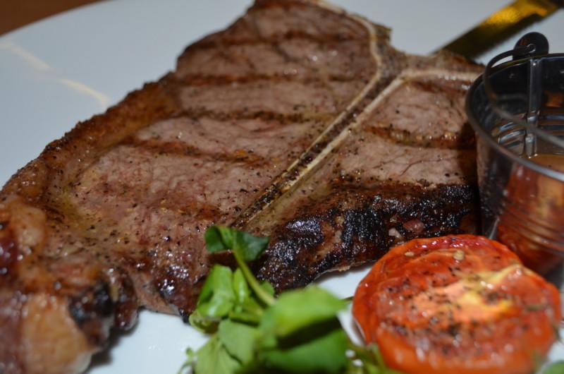 T-Bone steak at Meating, Birmingham
