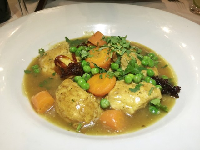 Chicken ragout at La Margherita, Rugby