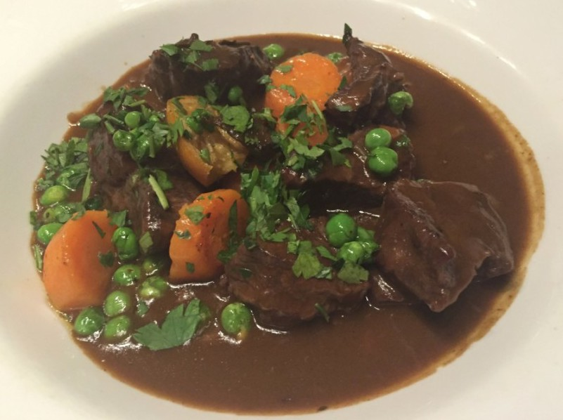 Daube be Boeuf at La Margherita, Rugby