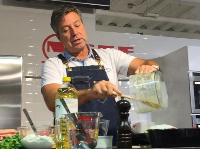 Learning to cook with John Torode