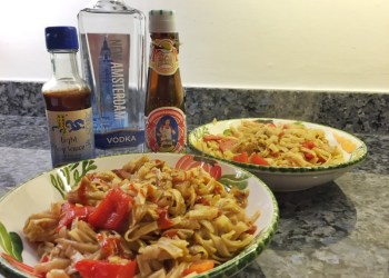 Spirited chicken noodles for Its Your Town