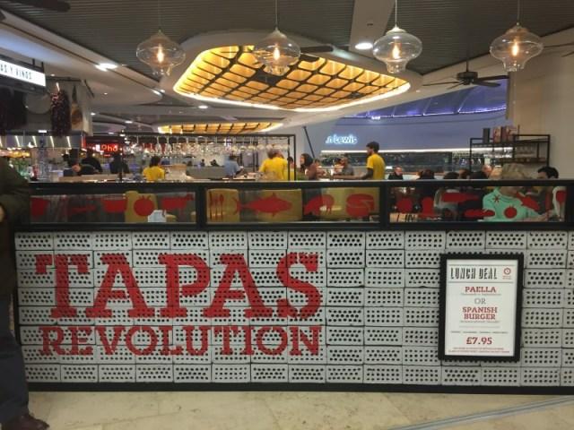 Tapas Revolution, Birmingham