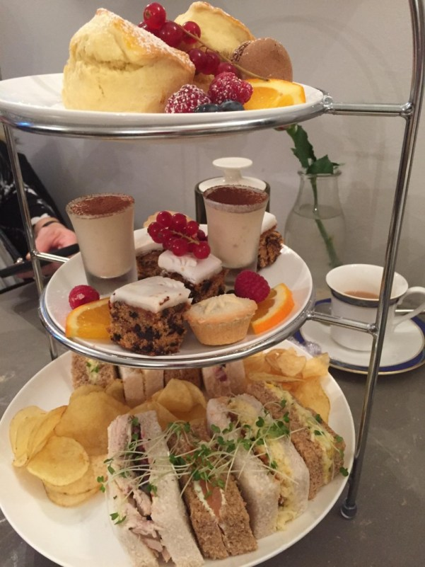 Christmas Afternoon Tea at the Nook on the Square