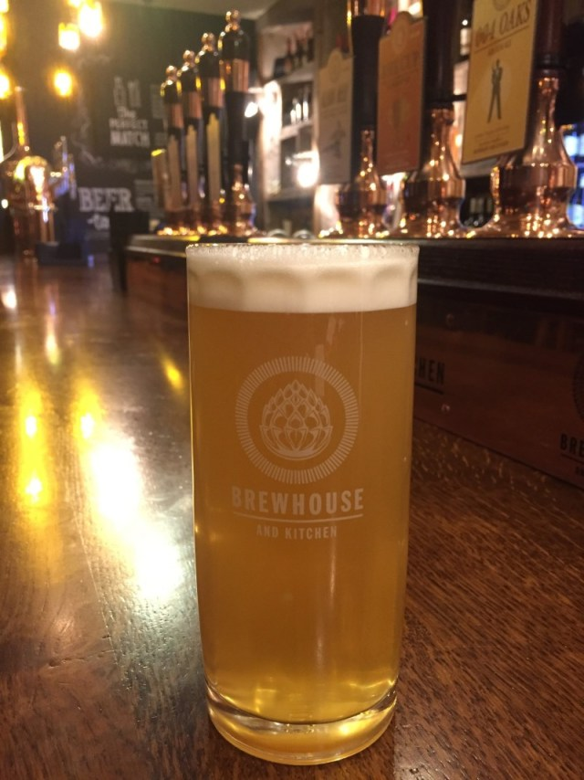 Beer at Brewhouse & Kitchen